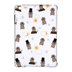 Groundhog Day Pattern Apple Ipad Mini Hardshell Case (compatible With Smart Cover) by Valentinaart