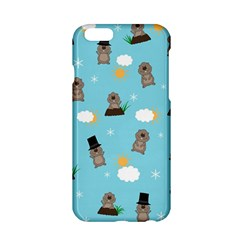 Groundhog Day Pattern Apple Iphone 6/6s Hardshell Case by Valentinaart