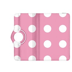 Pale Pink Dot Kindle Fire Hdx 8 9  Flip 360 Case by snowwhitegirl