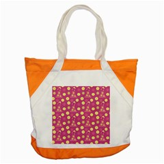 Yellow Flowers Dress Accent Tote Bag by snowwhitegirl