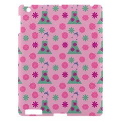 Green Dress Pink Apple Ipad 3/4 Hardshell Case by snowwhitegirl
