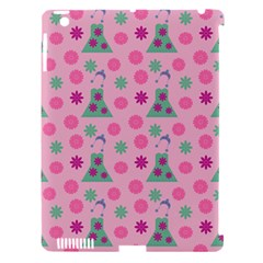 Green Dress Pink Apple Ipad 3/4 Hardshell Case (compatible With Smart Cover) by snowwhitegirl