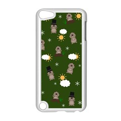 Groundhog Day Pattern Apple Ipod Touch 5 Case (white) by Valentinaart
