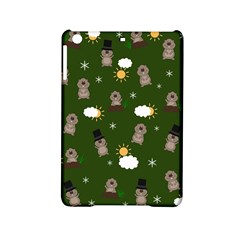 Groundhog Day Pattern Ipad Mini 2 Hardshell Cases by Valentinaart
