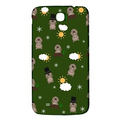 Groundhog Day Pattern Samsung Galaxy Mega I9200 Hardshell Back Case by Valentinaart