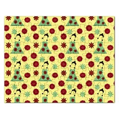 Green Dress Yellow Rectangular Jigsaw Puzzl by snowwhitegirl