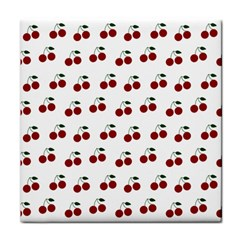 Cherries Face Towel by snowwhitegirl