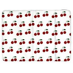 Cherries Samsung Galaxy Tab 7  P1000 Flip Case by snowwhitegirl