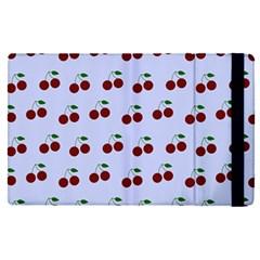 Blue Cherries Apple Ipad Pro 9 7   Flip Case by snowwhitegirl