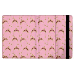 Pink Beige Hats Apple Ipad 3/4 Flip Case by snowwhitegirl