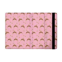 Pink Beige Hats Apple Ipad Mini Flip Case by snowwhitegirl
