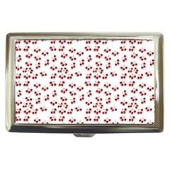 Red Cherries Cigarette Money Cases by snowwhitegirl