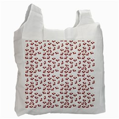 Red Cherries Recycle Bag (two Side)  by snowwhitegirl