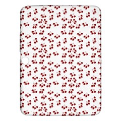 Red Cherries Samsung Galaxy Tab 3 (10 1 ) P5200 Hardshell Case  by snowwhitegirl