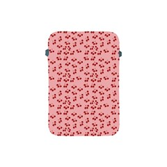 Rose Cherries Apple Ipad Mini Protective Soft Cases by snowwhitegirl