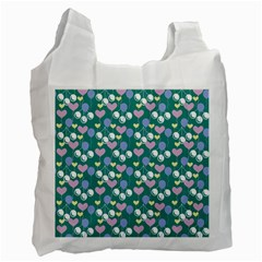 Ocean Cherry Recycle Bag (one Side) by snowwhitegirl