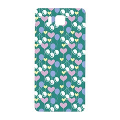 Ocean Cherry Samsung Galaxy Alpha Hardshell Back Case by snowwhitegirl