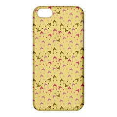 Hats Pink Beige Apple Iphone 5c Hardshell Case by snowwhitegirl