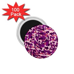 Pink Camo 1 75  Magnets (100 Pack)  by snowwhitegirl