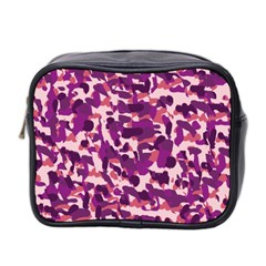 Pink Camo Mini Toiletries Bag 2 Side by snowwhitegirl