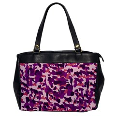 Pink Camo Office Handbags by snowwhitegirl