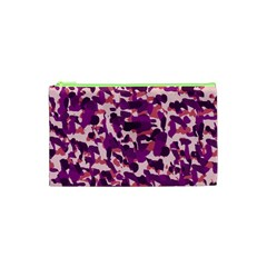 Pink Camo Cosmetic Bag (xs) by snowwhitegirl