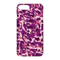 Pink Camo Apple Iphone 8 Plus Hardshell Case by snowwhitegirl