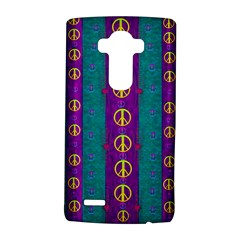 Peace Be With Us This Wonderful Year In True Love Lg G4 Hardshell Case by pepitasart
