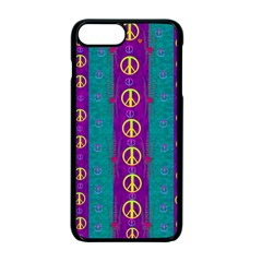 Peace Be With Us This Wonderful Year In True Love Apple Iphone 7 Plus Seamless Case (black) by pepitasart