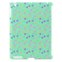 Minty Hearts Apple Ipad 3/4 Hardshell Case (compatible With Smart Cover) by snowwhitegirl