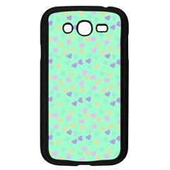 Minty Hearts Samsung Galaxy Grand Duos I9082 Case (black) by snowwhitegirl