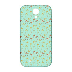 Blue Orange Hats Samsung Galaxy S4 I9500/i9505  Hardshell Back Case by snowwhitegirl