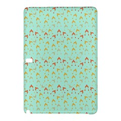 Blue Orange Hats Samsung Galaxy Tab Pro 12 2 Hardshell Case