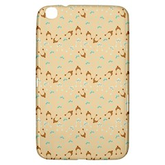 Winter Hats Beige Samsung Galaxy Tab 3 (8 ) T3100 Hardshell Case