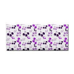 Purple Cherries Cosmetic Storage Cases by snowwhitegirl
