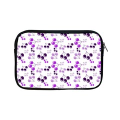 Purple Cherries Apple Ipad Mini Zipper Cases by snowwhitegirl