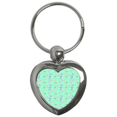 Mint Heart Cherries Key Chains (heart)  by snowwhitegirl