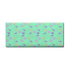 Mint Heart Cherries Cosmetic Storage Cases by snowwhitegirl