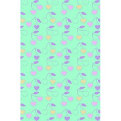 Mint Heart Cherries 5 5  X 8 5  Notebooks by snowwhitegirl