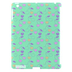 Mint Heart Cherries Apple Ipad 3/4 Hardshell Case (compatible With Smart Cover) by snowwhitegirl