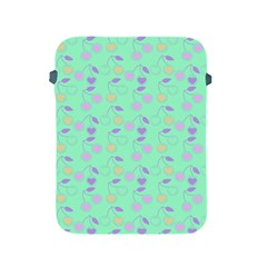 Mint Heart Cherries Apple Ipad 2/3/4 Protective Soft Cases by snowwhitegirl