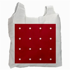 Red Dot Recycle Bag (two Side)