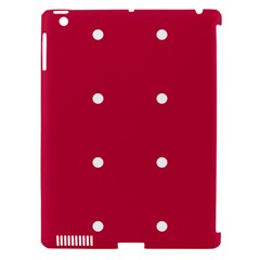 Red Dot Apple Ipad 3/4 Hardshell Case (compatible With Smart Cover) by snowwhitegirl