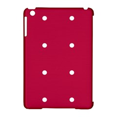 Red Dot Apple Ipad Mini Hardshell Case (compatible With Smart Cover) by snowwhitegirl