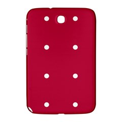 Red Dot Samsung Galaxy Note 8 0 N5100 Hardshell Case  by snowwhitegirl