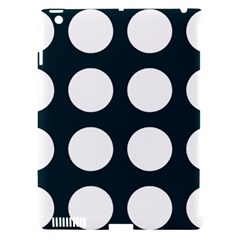 Big Dot Teal Blue Apple Ipad 3/4 Hardshell Case (compatible With Smart Cover) by snowwhitegirl