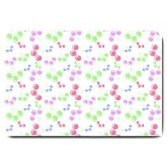 Candy Cherries Large Doormat  by snowwhitegirl