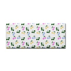 Green Cherries Cosmetic Storage Cases by snowwhitegirl