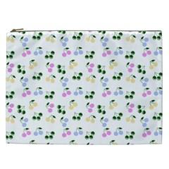 Green Cherries Cosmetic Bag (xxl)  by snowwhitegirl