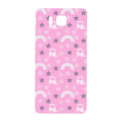Music Star Pink Samsung Galaxy Alpha Hardshell Back Case by snowwhitegirl